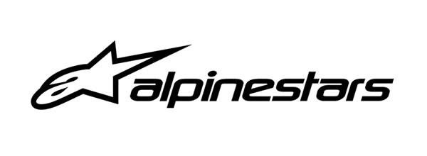logo protection vêtements gants VTT marque ALPINESTARS